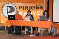 Landesparteitag 2011.1: Wahlleiter, Versammlungsleiter, Protokollführer